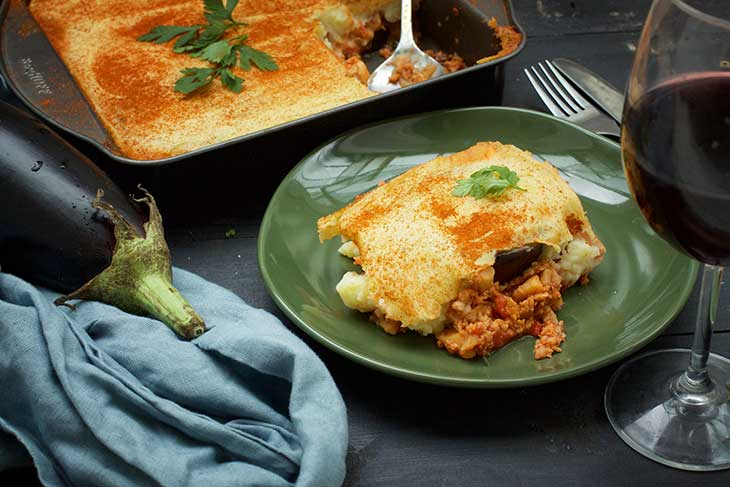 vegan greek moussaka recipe musaca greceasca de post