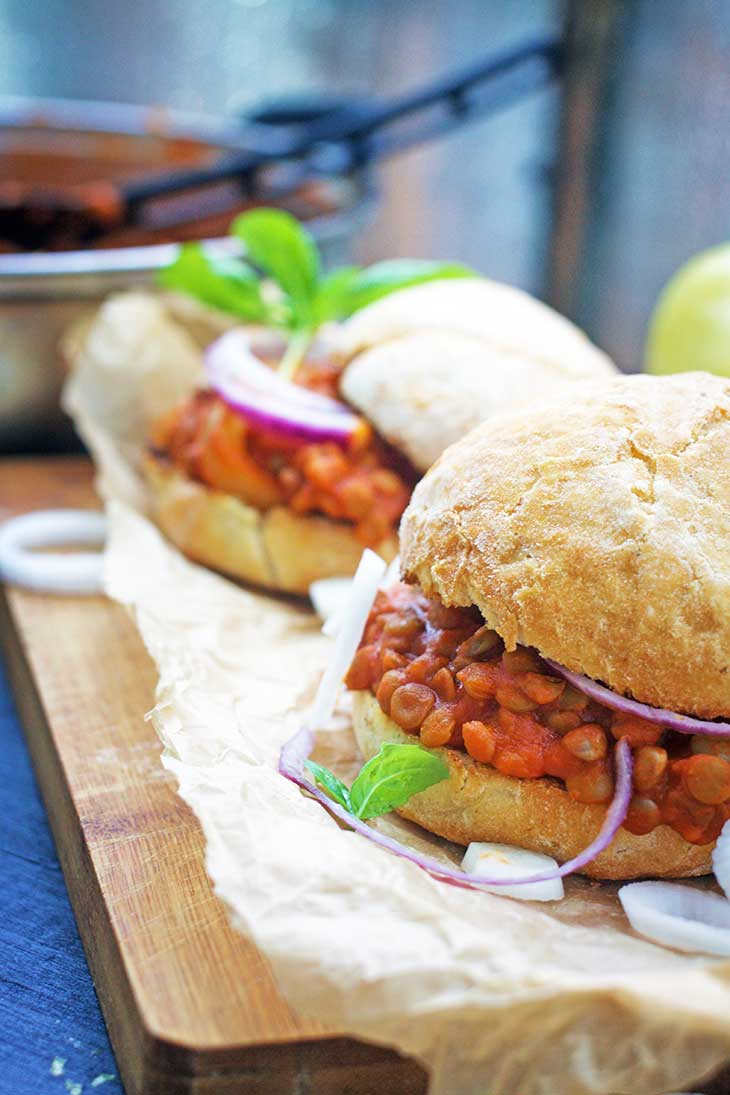 vegan sloppy joes recipe