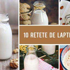 10 Retete de lapte vegetal pe care le poti face usor acasa