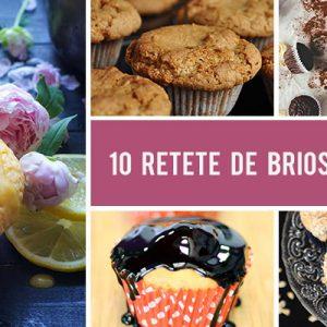 10 Retete de briose de post - rapide si delicioase!