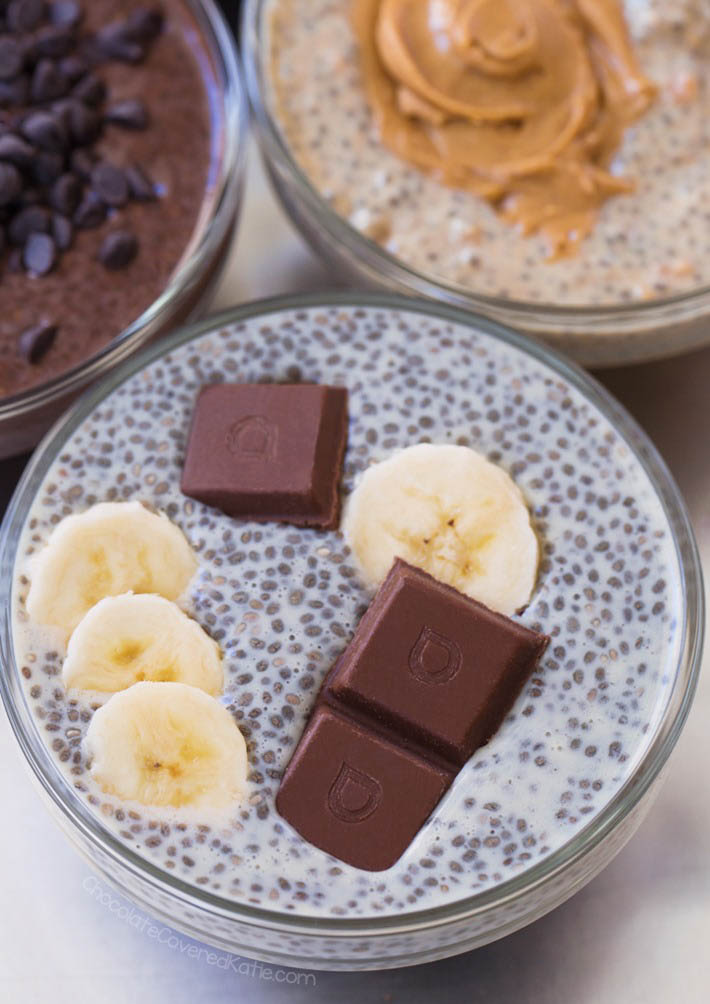Chia Pudding Recipe – 5 Delicious Flavors! for Breakfast Meal Prep