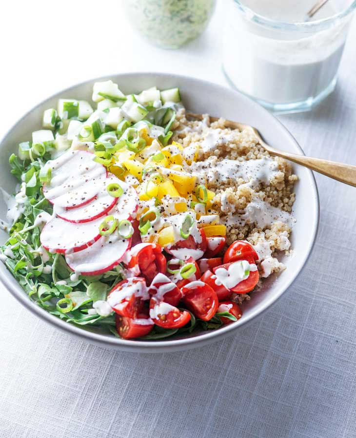 Make-Ahead Vegan Lunch Bowls for Lunch Meal Prep