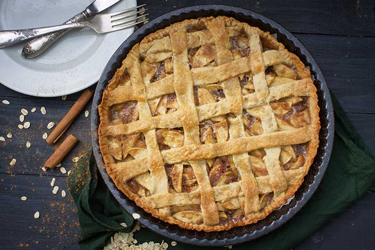 american cuisine vegan apple pie