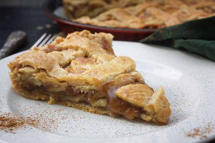 vegan american apple pie