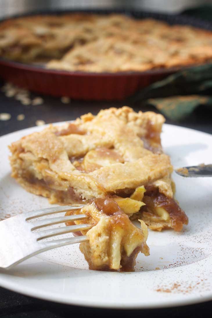 vegan apple pie recipe Vegan Thanksgiving Menu