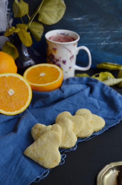 Fursecuri cu portocala (de post)