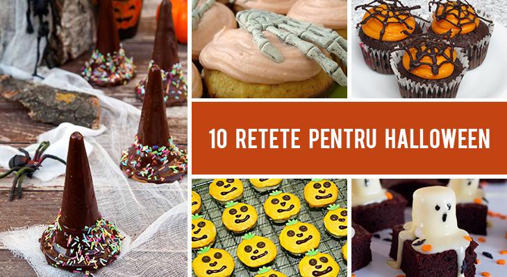 10 Retete pentru Halloween - idei creative pentru copii!