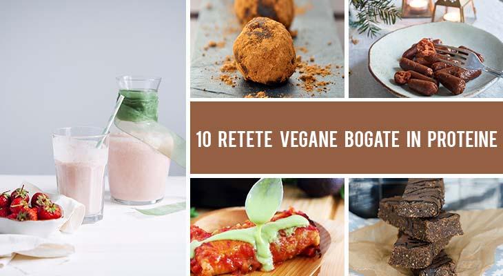10 retete vegane bogate in proteine pentru mic dejun, pranz si cina