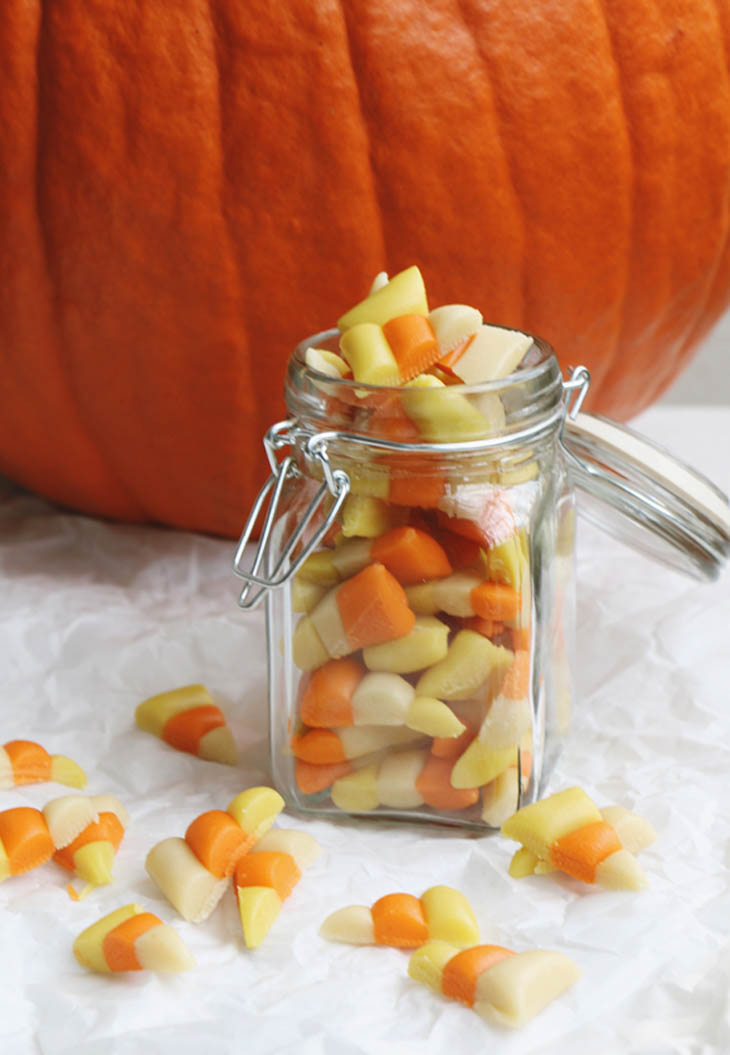The Vegan Candy Corn Recipe You've Been Searching For