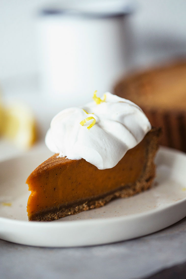 Citrusy Sweet Potato Pie