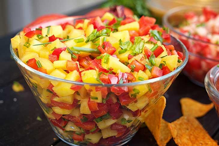 Homemade Salsa Recipes mango salsa