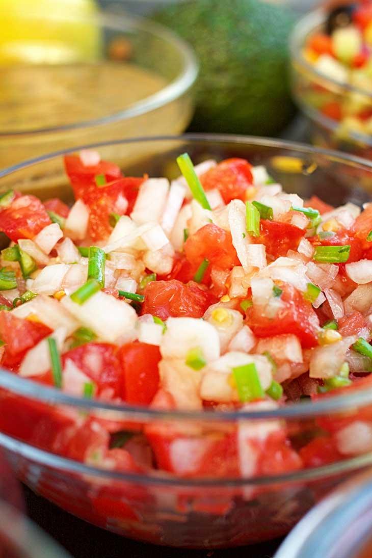 Homemade Salsa Recipes pico de gallo
