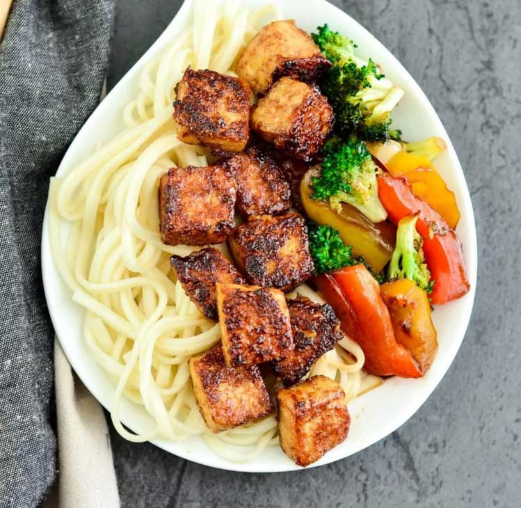 Crispy Tofu with Hoisin Sauce