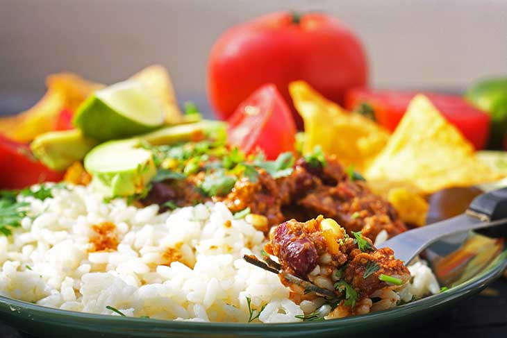 Chili Con Carne de post - mexican chili sin carne