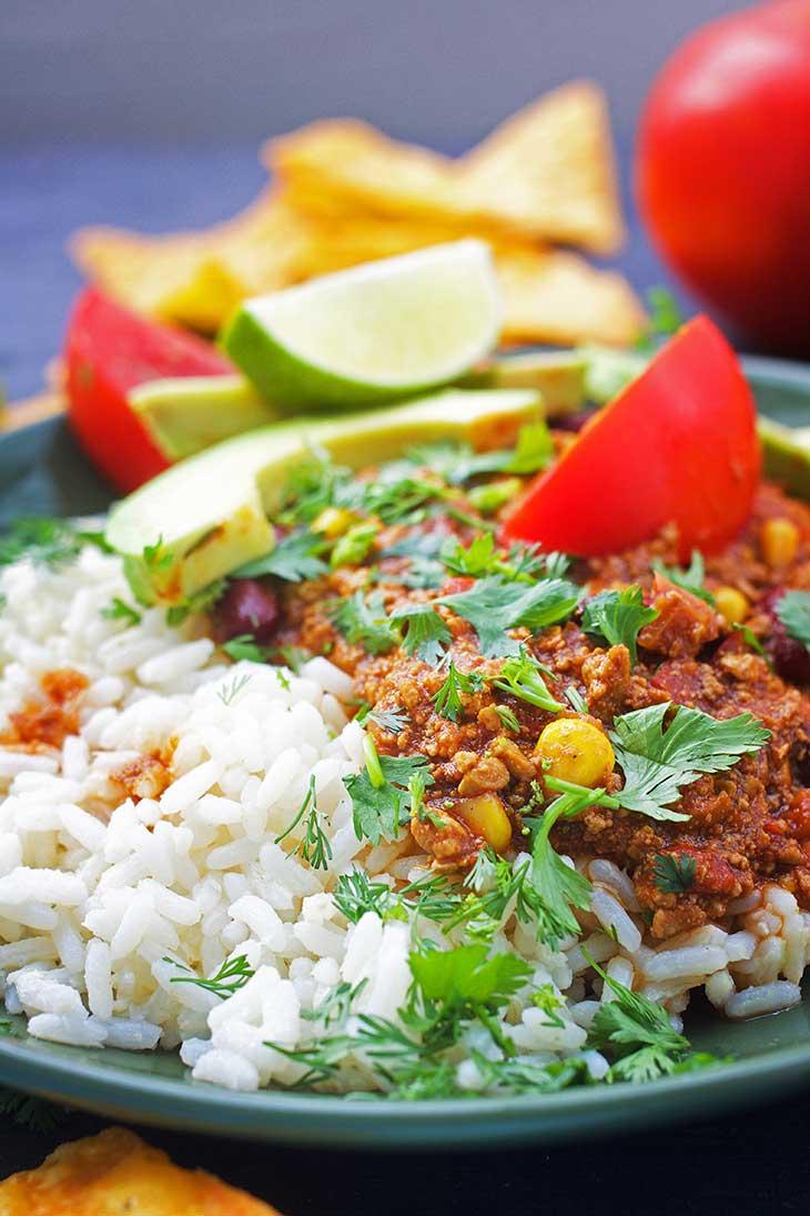 Reteta de post Chili Con Carne - chili sin carne