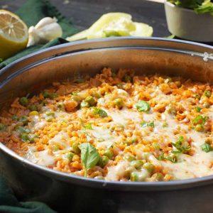 Vegan Mexican Rice orez mexican reteta