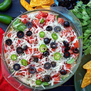 Vegan Tortilla Casserole caserola cu tortillas