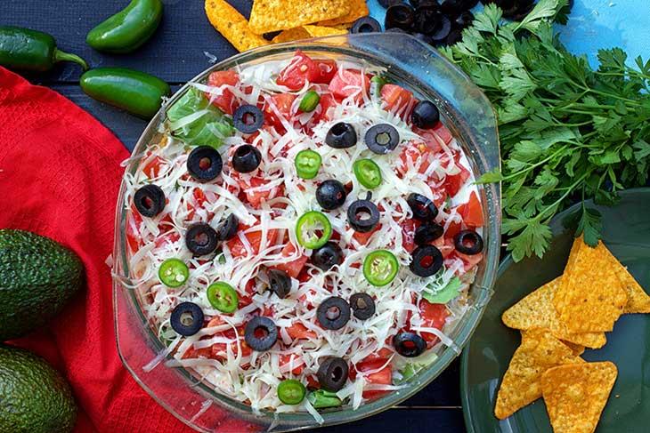 Vegan Tortilla Casserole Mexican Cuisine
