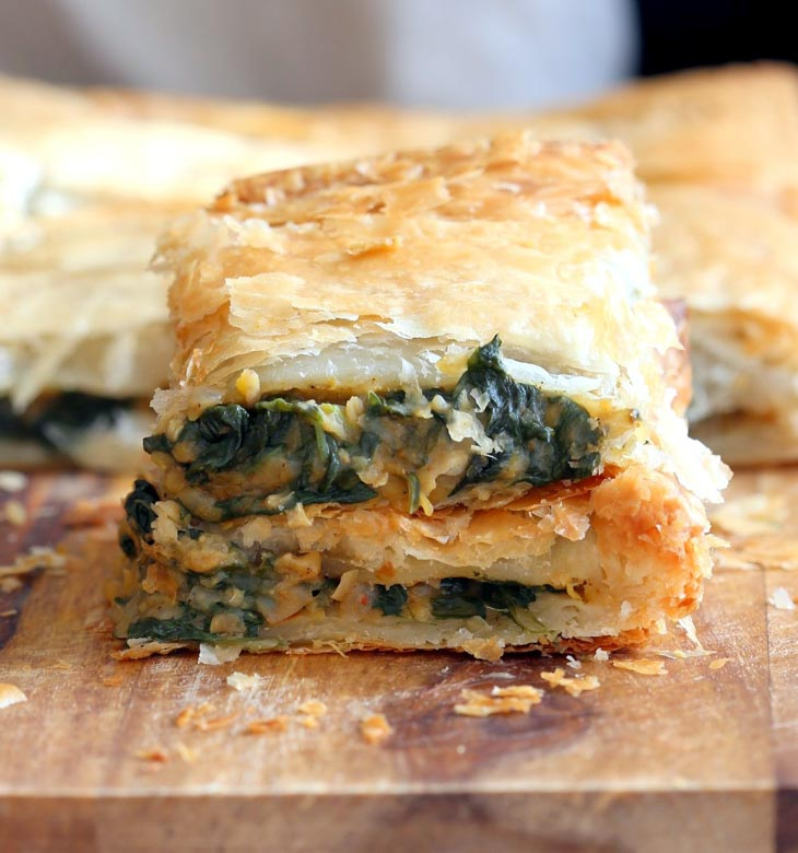 Chickpea Spinach Pie with Berbere Spice