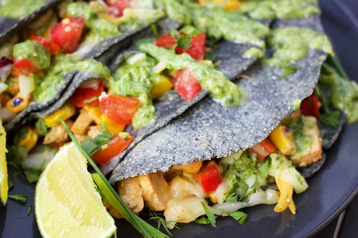 healthy vegan tacos recipe