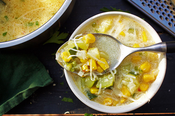 vegan Mexican Zucchini Soup