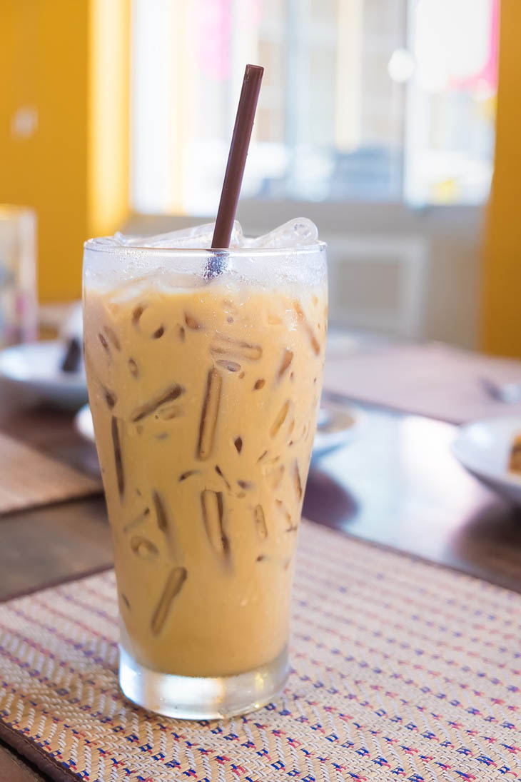 Vegan Iced Coffee with a Kahlua Kick
