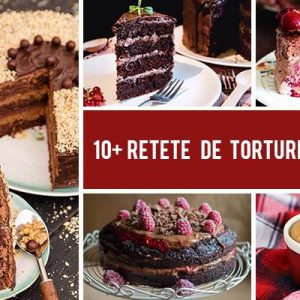 10+ Retete festive de torturi de Craciun