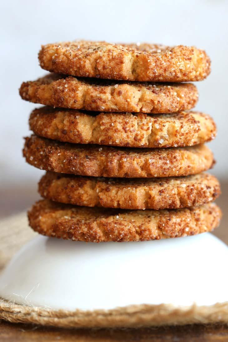 Vegan Cardamom Cookies - Cardamom Snickerdoodles