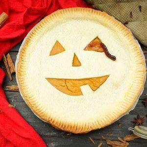 Haloween Pumpkin Pie placinta cu dovleac