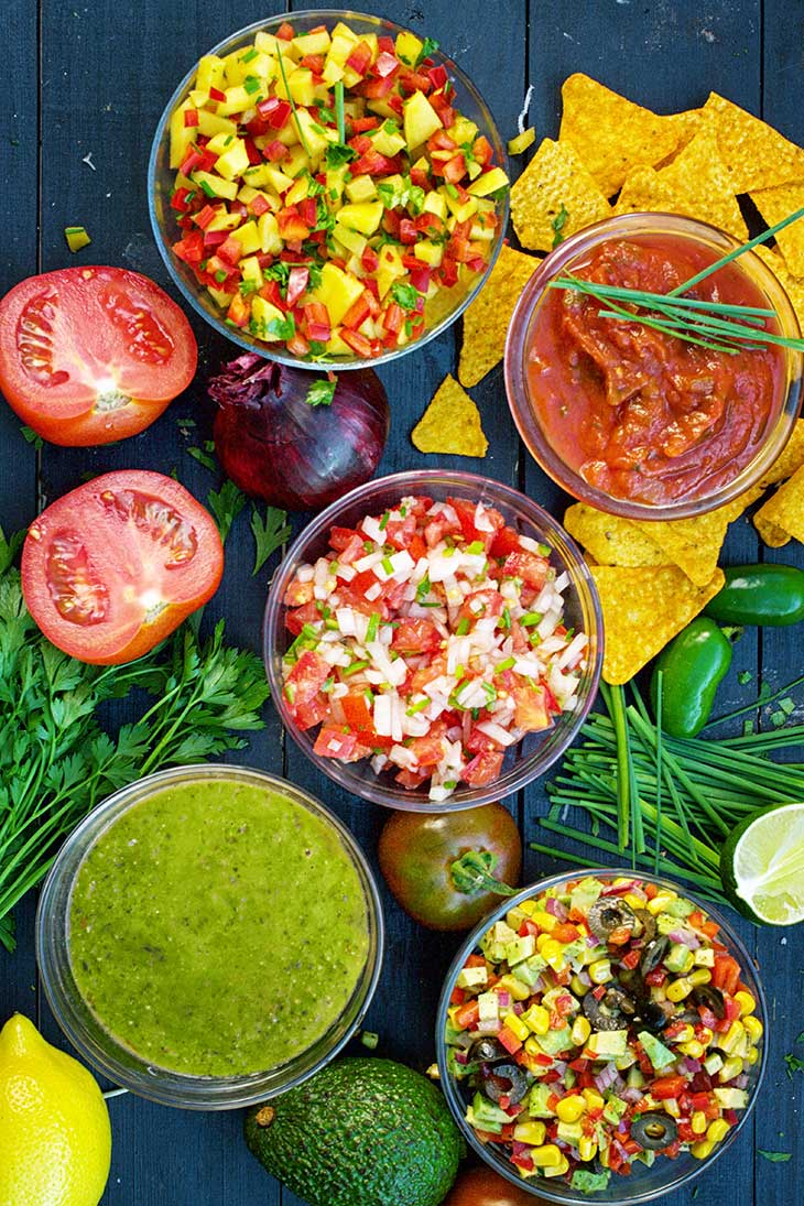 Homemade Salsa Recipes mexican