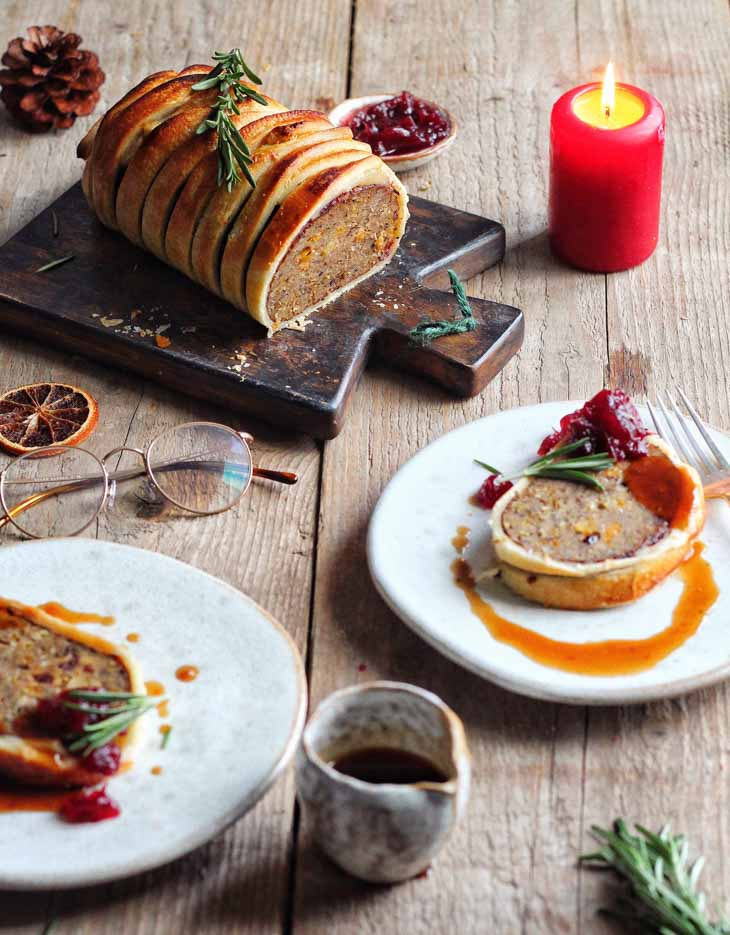 Ultimate Vegan Christmas Roast Wellington