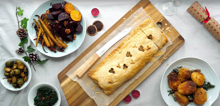 Giant Christmas Sausage Roll