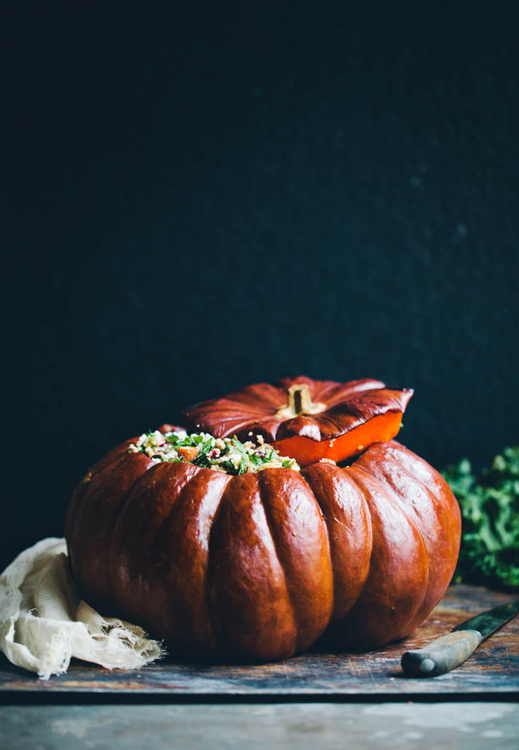 Holiday Stuffed Pumpkin