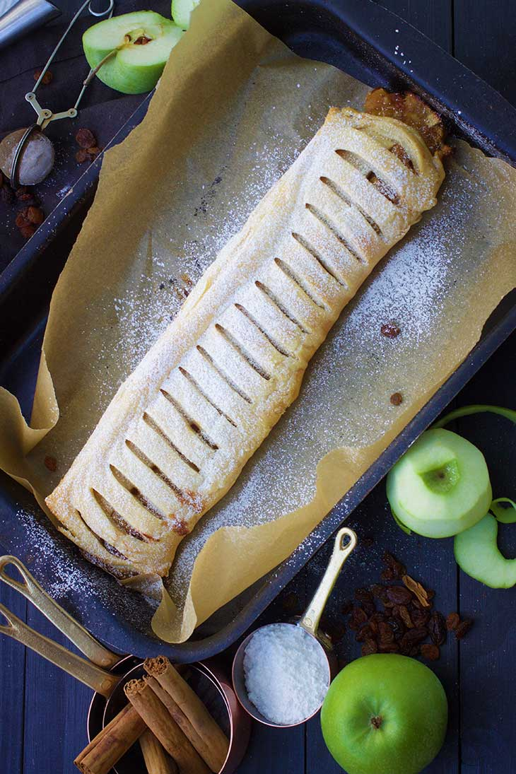vegan apple strudel recipe