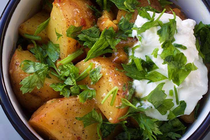 salata de cartofi germana de post