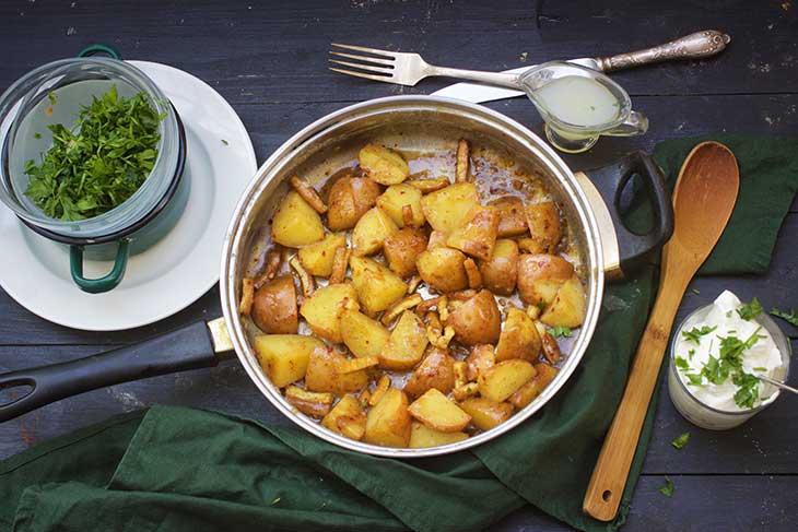 salata de cartofi nemteasca