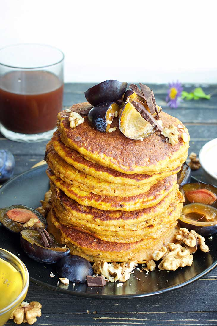 Vegan Sweet Potato Pancakes recipe