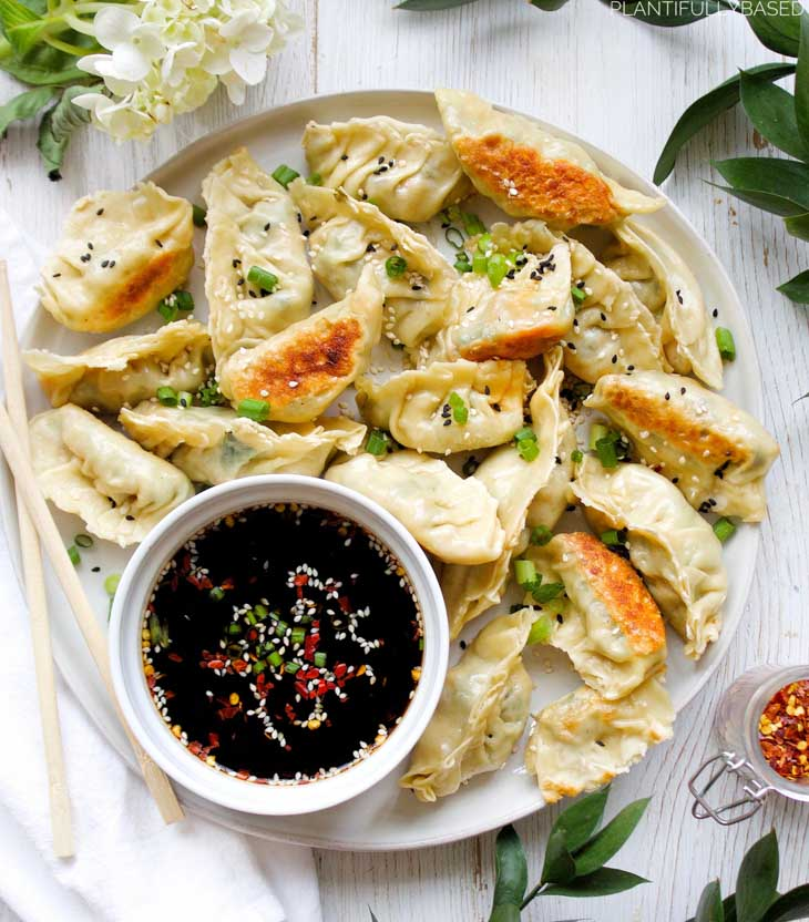 Vegan Vegetable Dumplings
