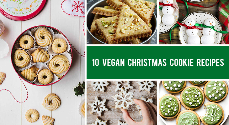 10 Vegan Christmas Cookies Recipes That Are Festive and Easy To Make