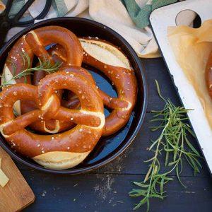 vegan pretzel