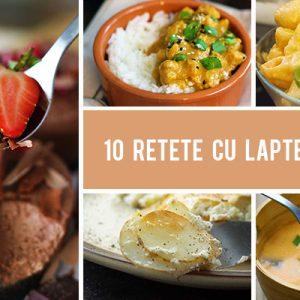 10 Retete cu lapte de cocos - sarate si dulci