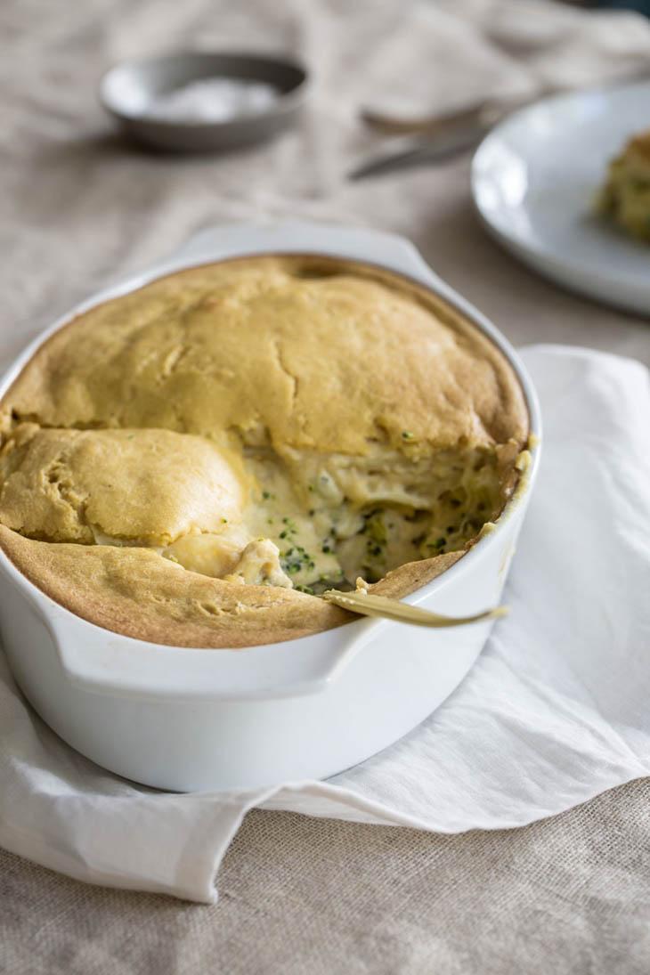 Vegan Potato Broccoli Casserole