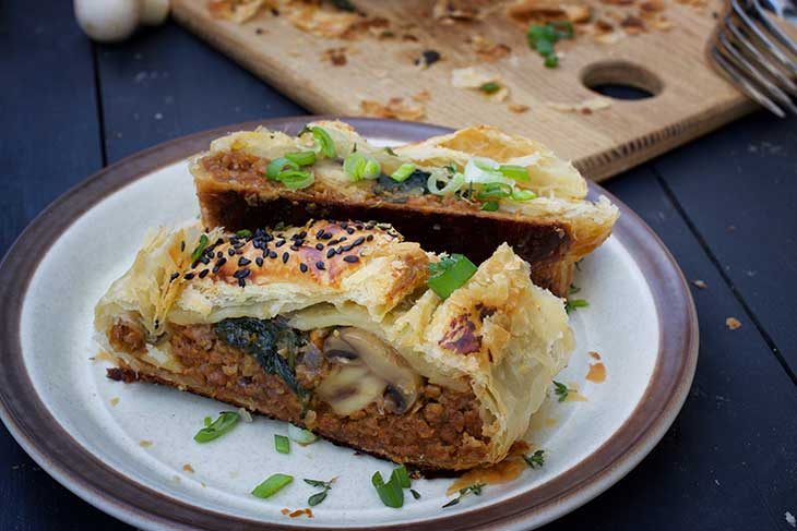 Vegan Wellington recipe mushroom