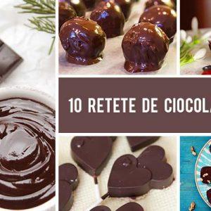 10 Retete de ciocolata vegana - rapide si simple