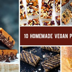 10 Homemade Vegan Protein Bars for Pre- and Post-Workouts