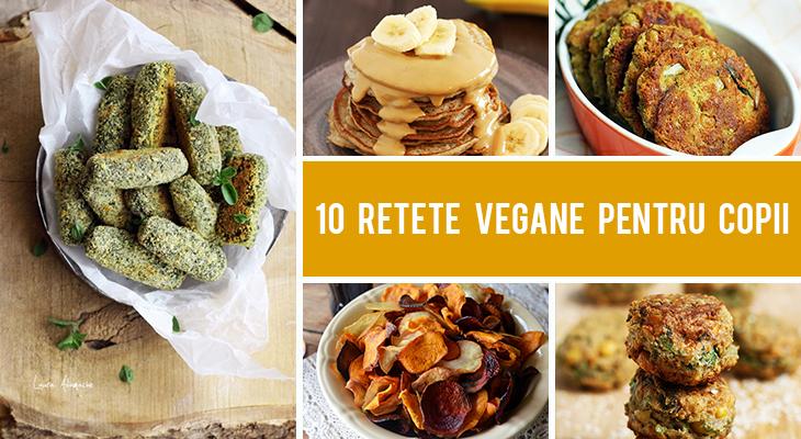 10 Retete vegane pentru copii