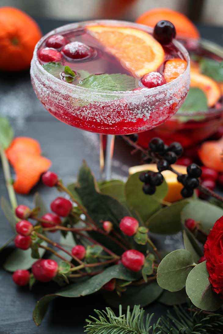 Christmas Punch easy recipe