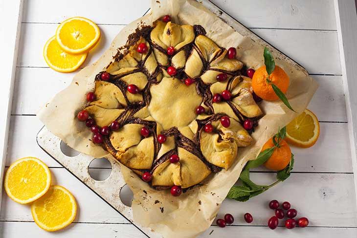 festive Star Bread