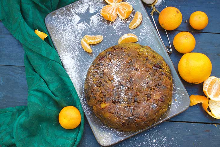 Vegan Christmas Pudding budinca de craciun