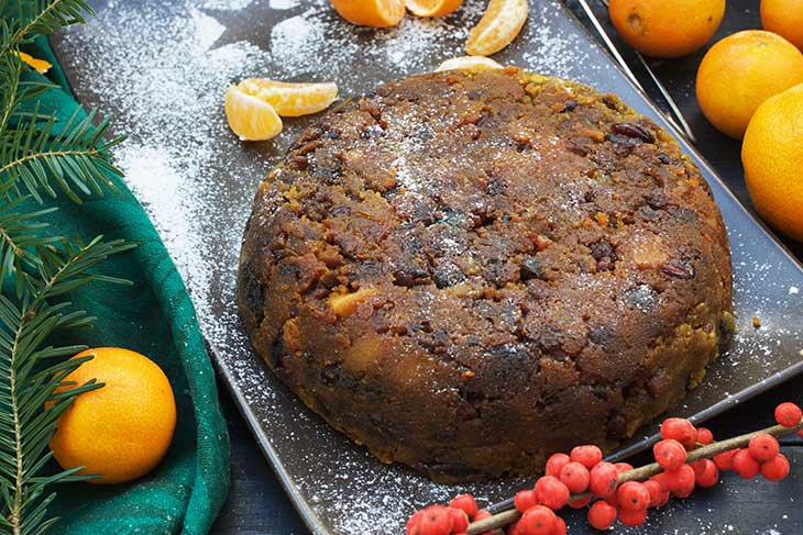 Vegan Christmas Pudding traditional recipe